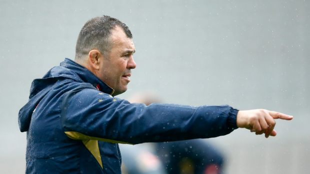 Grand design: Wallabies coach Michael Cheika based his World Cup squad around having two starting teams.