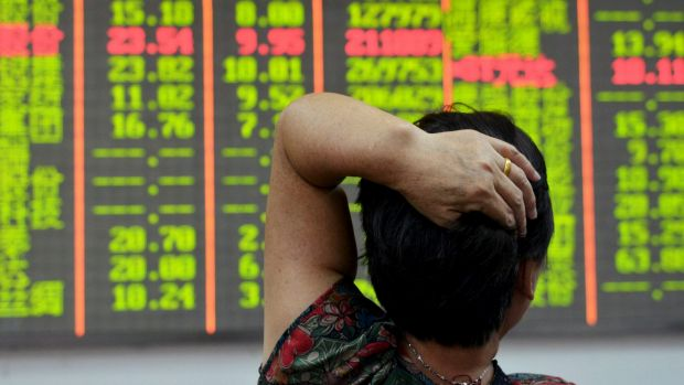 A fresh round of panic selling pushed the Shanghai index down by 6.2 per cent on Tuesday and another 4 per cent on Wednesday.