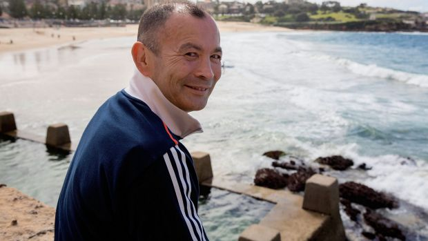 """""""People assumed that as I had been named the director of the new Super Rugby side I would stay on"""": Eddie Jones."""