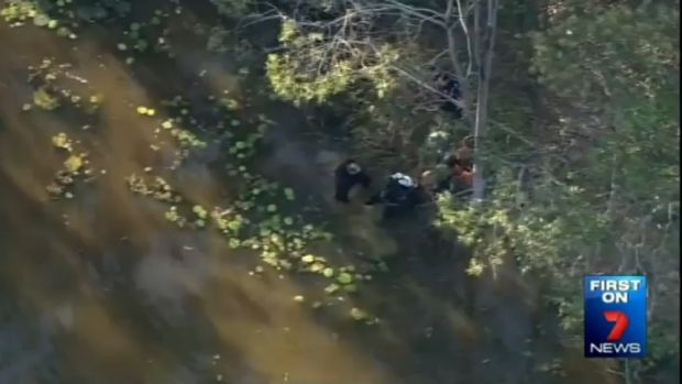 Police divers have searched a dam on a farm near Ipswich in the hunt for missing teenager Jayde Kendall.