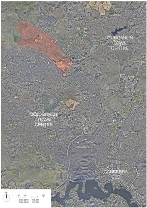 The CSIRO plans to allow a developer onto its Ginninderra field station land for an urban development.