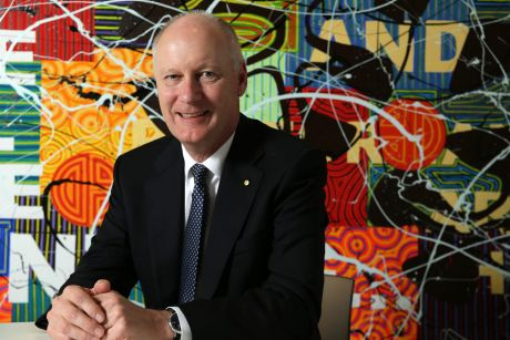 Richard Goyder will take over as AFL chairman in April.