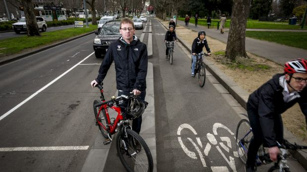 """""""This is about the Baird government's political agenda against bike riders"""": Craig Richards."""
