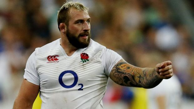 Loose tongue: Joe Marler.