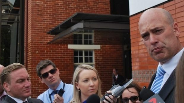 Dean Nalder is at the centre of an ASIC probe involving a $2 billion tender process.