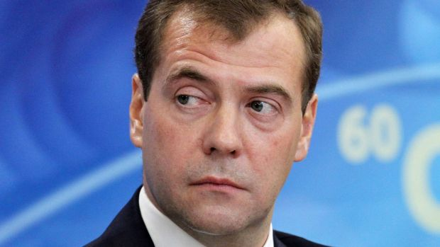 Russian Prime Minister Dmitry Medvedev is leading the Russian delegation at the annual Munich Security Conference.