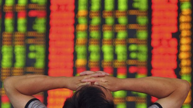 Ouch. Chinese shares have tanked again this morning, nipping a tentative ASX rally in the bud.