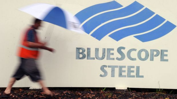 BlueScope Steel said it would pay a final, fully franked dividend of 3c on October 19 as it returned to a full-year ...