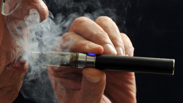 A British study found vaping to be 95 per cent safer than smoking.