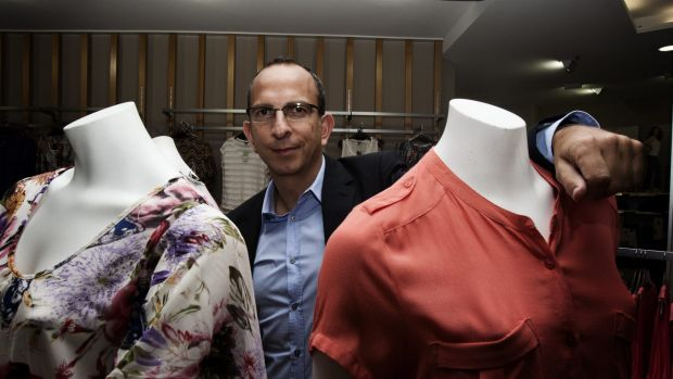 Specialty Fashion Group chief executive Gary Perlstein.