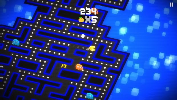 <i>Pac-Man 256</i> carries some similarities to <i>Crossy Road</i>.