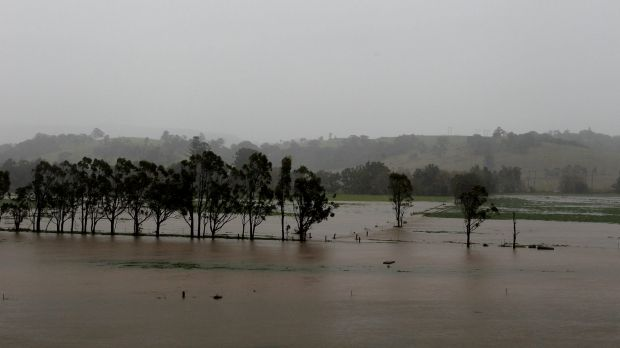 The heaviest falls were recorded on NSW's south coast region.