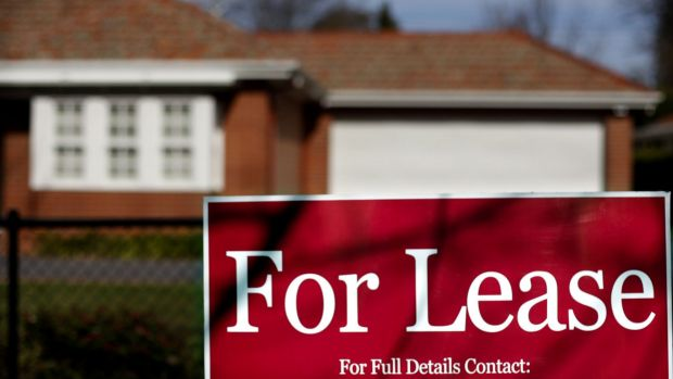 In March the number of one-bedroom leased properties increased by 50 per cent.