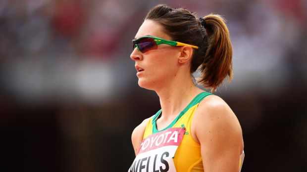 Lauren Wells is one of the Australian athletes who will consider her Olympic position if the Zika virus puts her in danger.