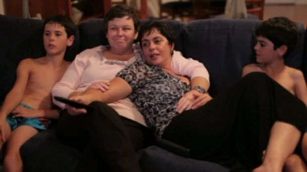A still from the documentary film <i>Gayby Baby</i>.
