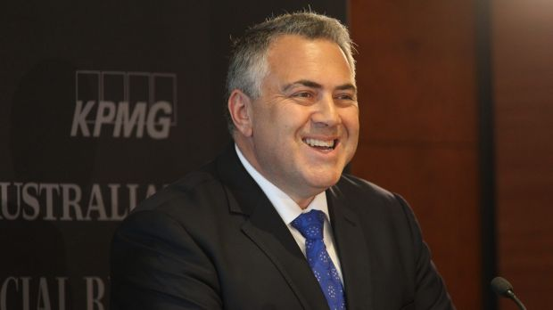 Treasurer Joe Hockey, pictured at the National Reform Summit in Sydney on Wednesday, will co-chair a new parliamentary ...