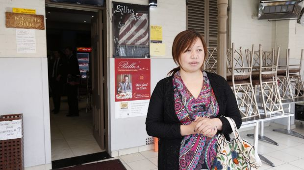 Sara Limbu initially thought a vehicle had backfired, before learning a gunman had opened fire.