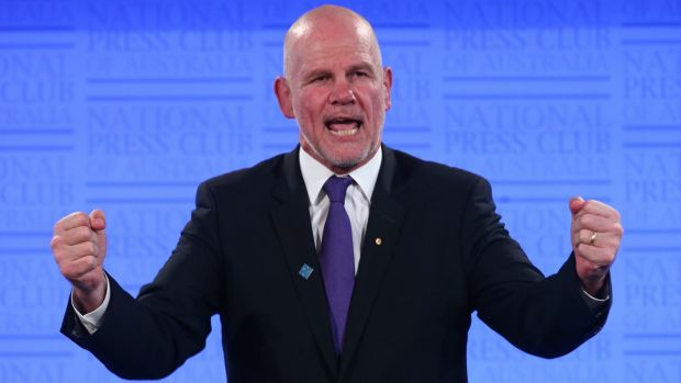 Peter FitzSimons, chair of the Australian Republican Movement.