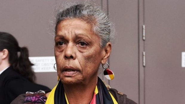 Jenny Munro shows bitter disappointment when a ruling from the Supreme Court went against the Redfen Tent Embassy ...