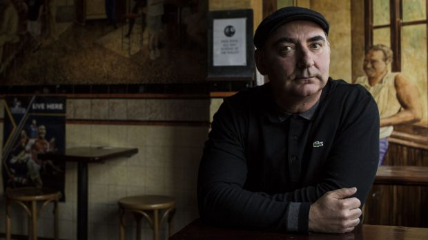 Author of a new Vietnam War novel Mark Dapin poses for a portrait in Birchgrove.