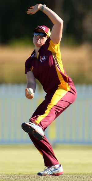 Grace Harris in action for Queensland last year.