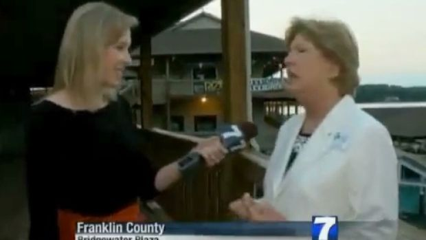 Alison Parker was interviewing Vicki Gardner when shots rang out.