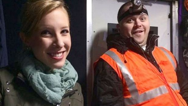 Alison Parker, 24, and Adam Ward, 27, often worked together.