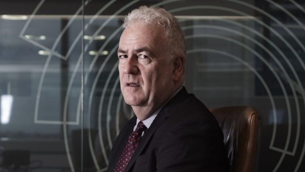 Broadspectrum chief executive Graeme Hunt will be forced to compete for a new five-year contract on Nauru and Manus Island.