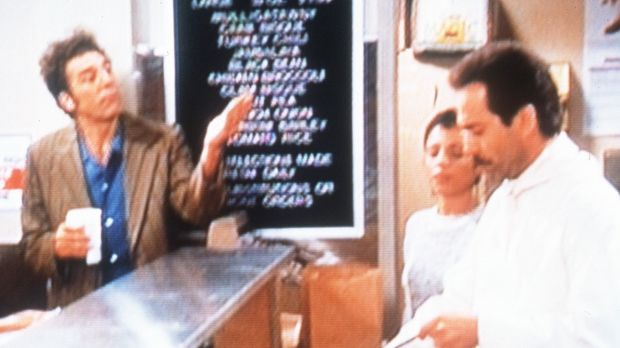 "In the series Seinfeld, the ""Soup Nazi"" (at right) terrified the cast by cutting them off from their favourite soups."