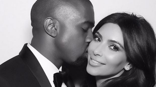 Kim Kardashian and Kanye West have crowned their baby.