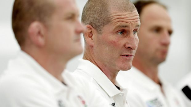 """I remember Luther's [Burrell] mum and dad. I know them really well. It's tough"": England head coach Stuart Lancaster."