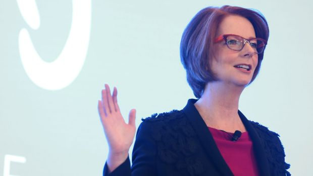Julia Gillard says the world must lift its game to ensure children fleeing conflict receive an education.