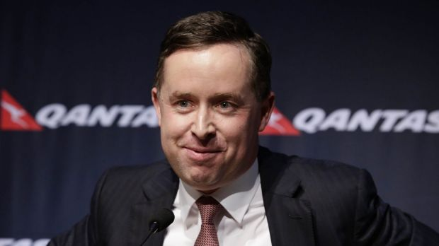 Qantas CEO Alan Joyce's take-home pay for the year rose to $6.7 million, up from $2 million the previous year.