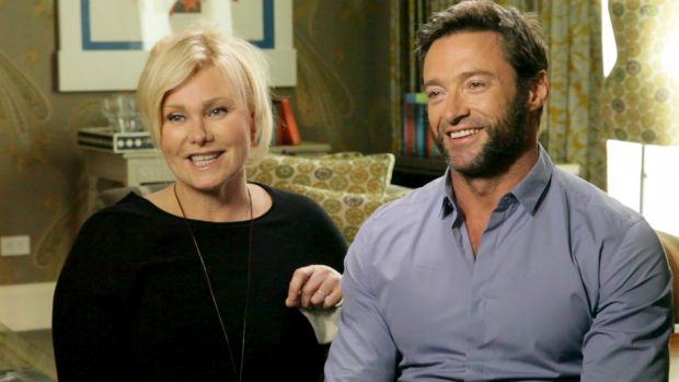 Deborra-lee Furness and her husband Hugh Jackman.