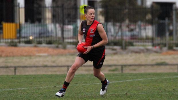 Code-switch: Former Opal Kristen Veal has her sights set on the Women's AFL.
