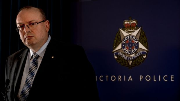 Victoria's Chief Commissoner of Police Graham Ashton.