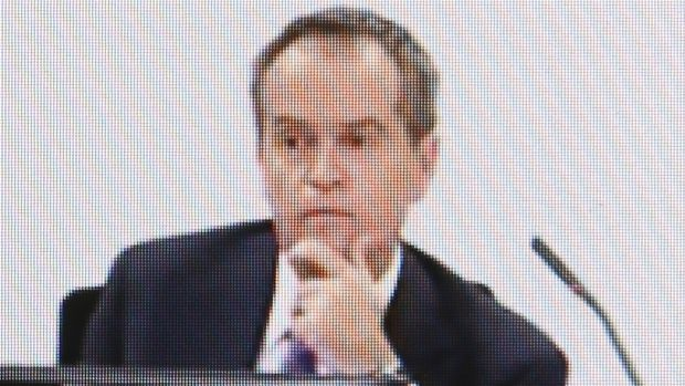 Opposition Leader Bill Shorten at the royal commission into unions in July.