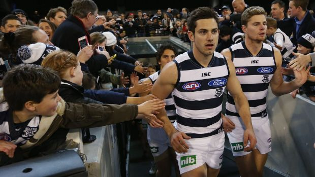 Comeback kids: Daniel Menzel and Nathan Vardy.