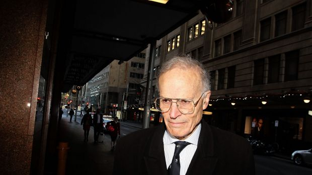 Head of the royal commission into unions, Dyson Heydon.