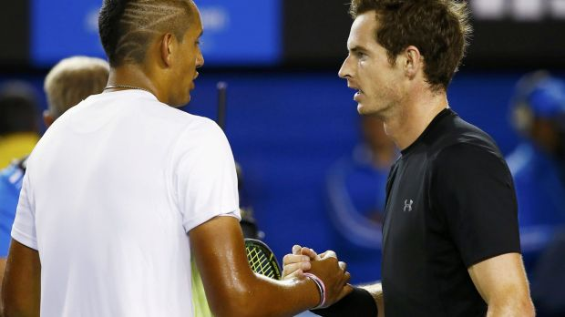 Face-off: Kyrgios and Murray are set to go head-to-head in the pick of the US Open first-round clashes.