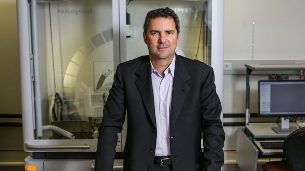 "CSIRO chief executive Larry Marshall: ""The reality is some people are really resistant to change and some people embrace it."""
