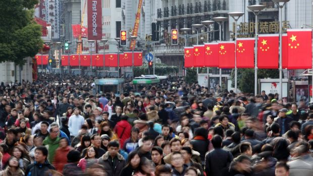 The slowdown in China is having a dramatic effect on Australia's fortunes.