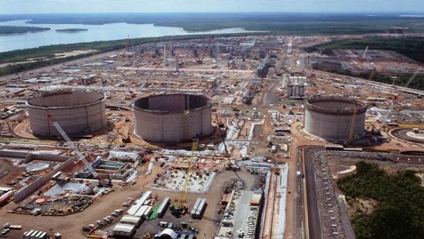 Workers on the huge Ichthys LNG construction site near Darwin want shorter rosters.