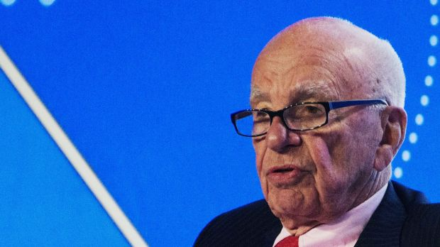 """See you next year I hope."": Rupert Murdoch faced a shareholder revolt at the News Corp AGM."