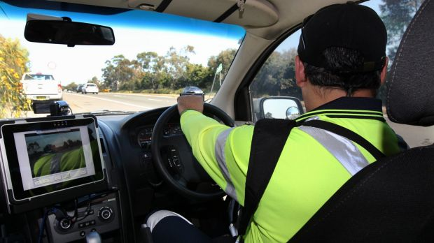 Mobile speed cameras will be used in Canberra school zones from this week.