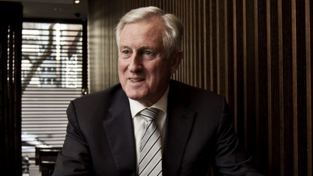 Former leader of the Liberal Party: John Hewson.