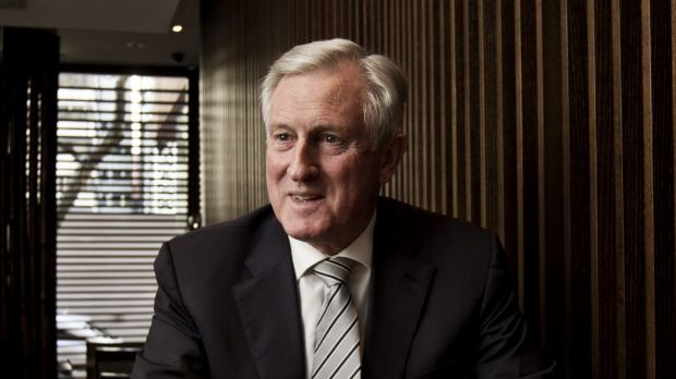 """John Hewson: """"I don't see how those numbers add up."""""""