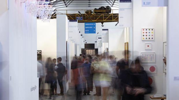 The Sydney Contemporary Art Fair at Carriageworks.