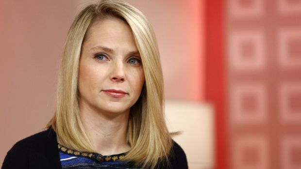 Yahoo's embattled chief executive Marissa Mayer.