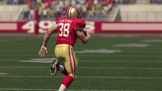 Jarryd Hayne in the EA Sports game Madden 16.